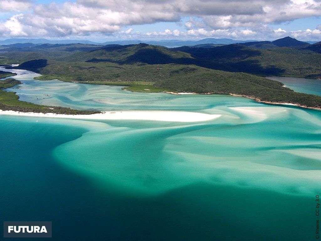 Australie : Plage de Whitehaven Beach, un paysage de rêve !