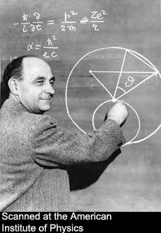 Le prix Nobel Enrico Fermi (1901-1954).