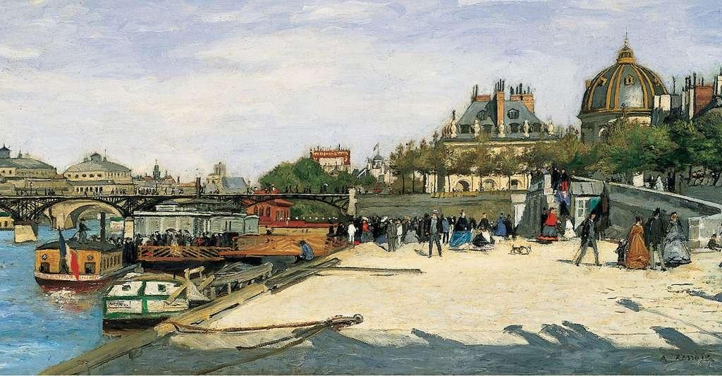 Le Pont des Arts à Paris. © Norton Simon Museum, LA, Wikimedia commons, DP