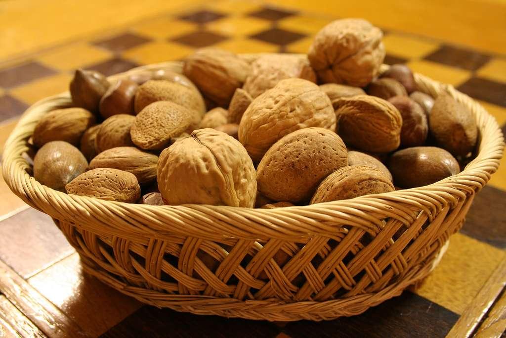 Les fruits à coque, et particulièrement les noix, réduisent le risque d'apparition de certaines maladies parmi les plus mortelles, comme les maladies cardiovasculaires et le cancer. © IainBuchanan, Flickr, cc by 2.0