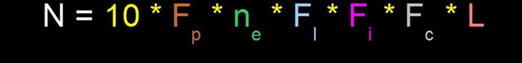 L'équation de Drake élargie à toutes les étoiles, quel que soit leur spectre. © DR