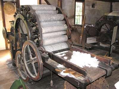 Machine à carder. © Académie de Rouen