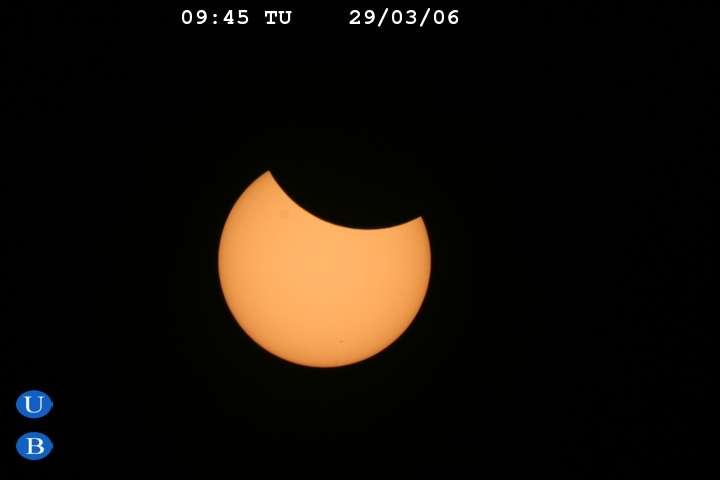 L'éclipse en Egypte