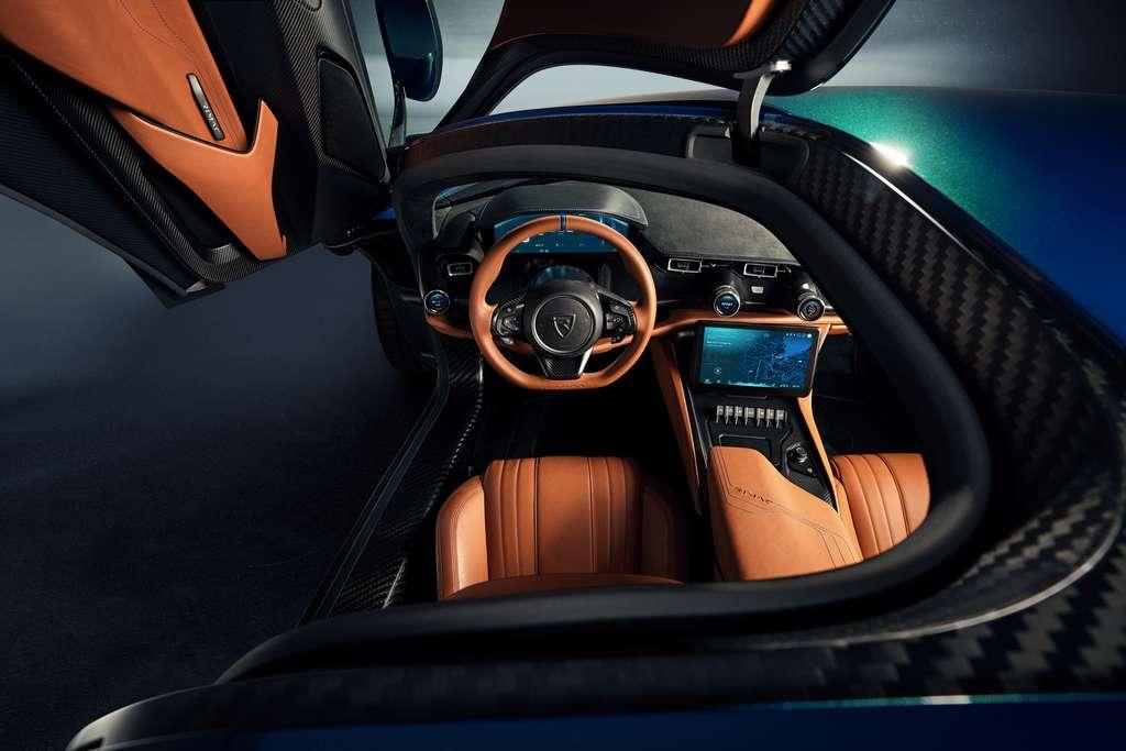 L'intérieur de la Rimac Nevera sera hautement personnalisable. © RimacAutomobili