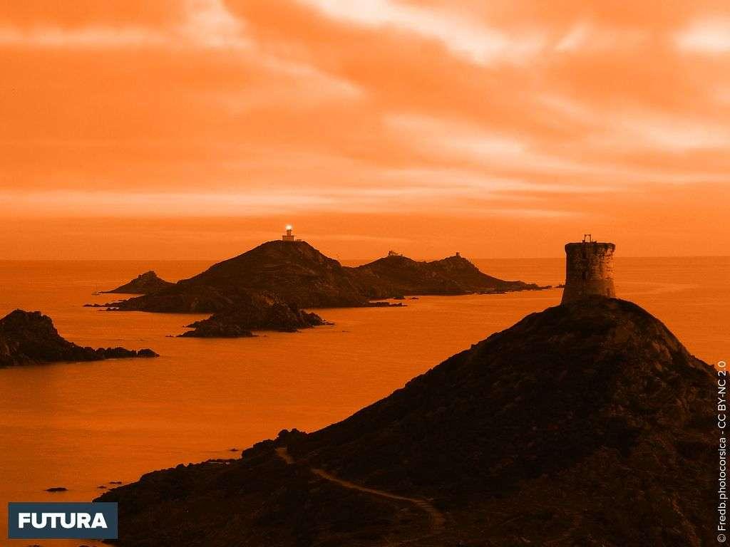 Corse les îles sanguinaires