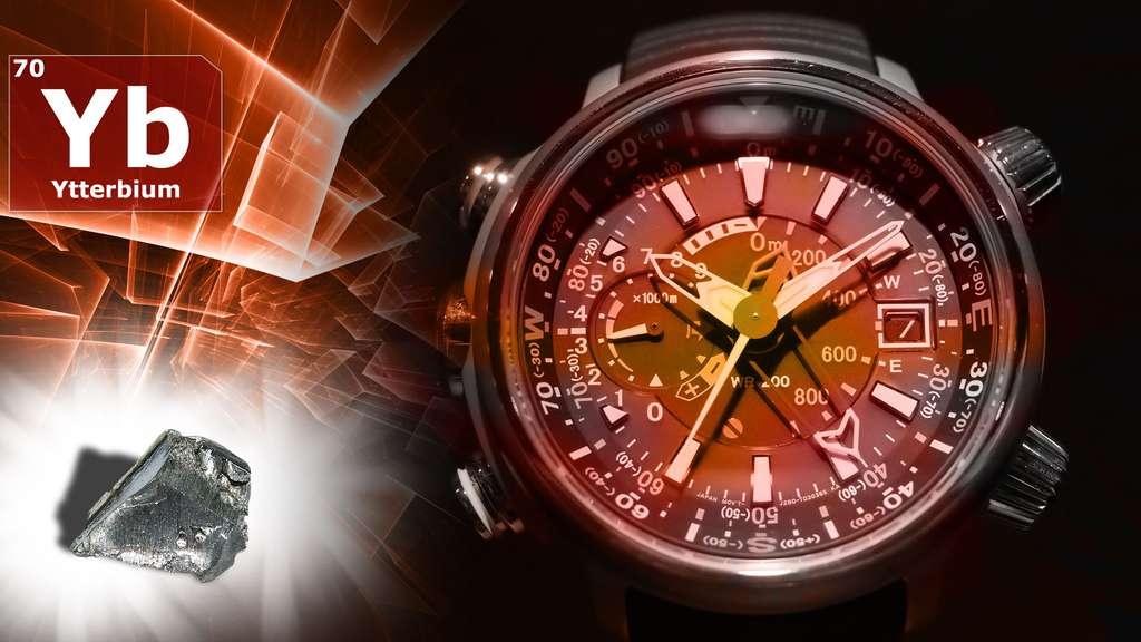 L'ytterbium et ses utilisations : horloges atomiques et cristaux laser