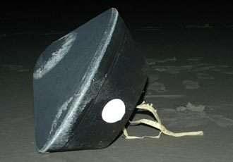 La capsule SRC (Sample Return Capsule) de Stardust de retour sur Terre (Crédits : NASA/JPL)