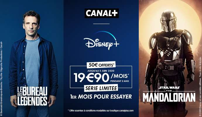 Bon plan Canal+ avec Disney+ - Image Canal+