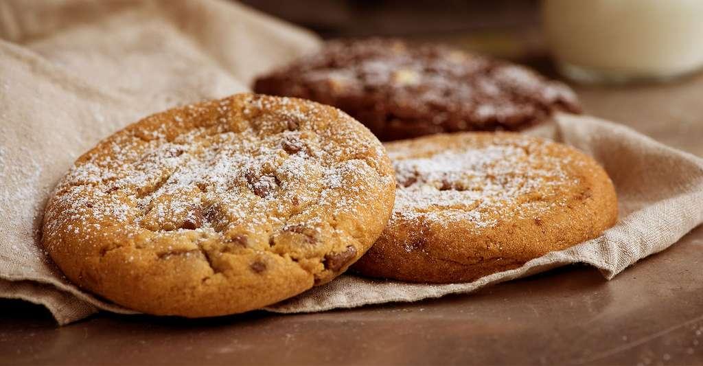 Comment la chimie intervient-elle dans la recette des cookies ? © Pezibear, domaine public
