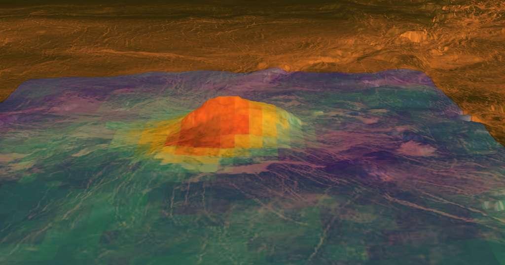 Une tectonique sur Vénus mais différente de la Terre E5856cb941_50158843_venus-volcan-idunn-mons-nasa-jpl-caltech-esa