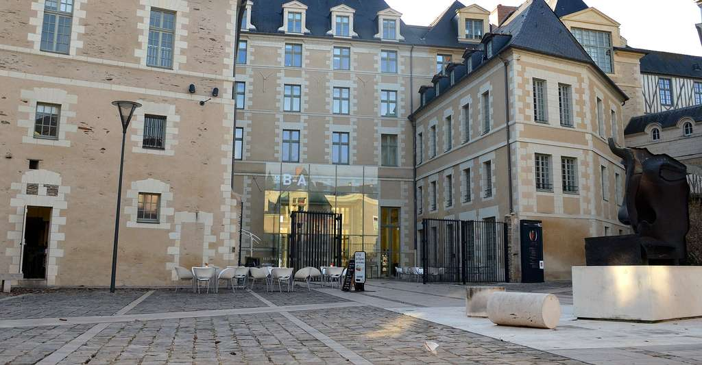 Logis Barrault, actuel musée des Beaux-Arts à Angers (Maine-et-Loire). © Selbymay, Wikimedia commons, CC by-sa 3.0