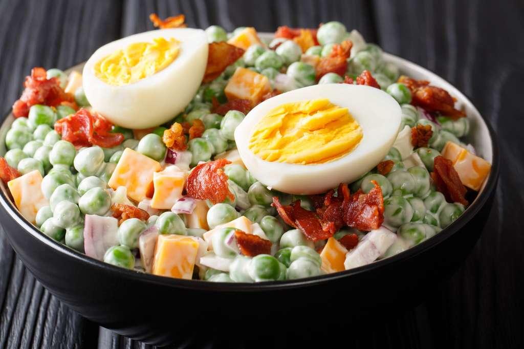 Les salades industrielles contiennent généralement un grand nombre d'additifs. © FomaA, Fotolia