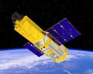 Le télescope suzaku. Crédits : http://www.sciencedaily.com