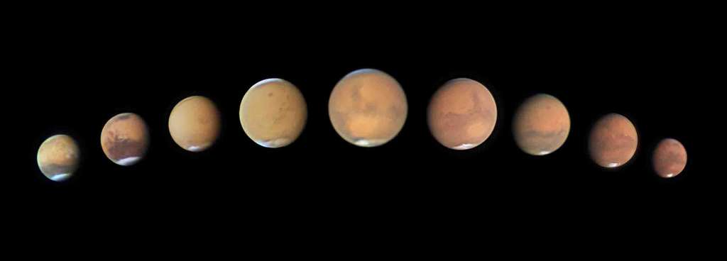 «La fin d'une opportunité» (Death of Opportunity) comme un clin d'œil à Mars et au rover Opportunity qui l'a sillonnée pendant 15 années. © Andy Casely