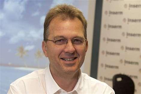 Jean-Marc Lemaître, biologiste de l'Inserm, a mené l'étude sur la réversibilité du vieillissement par les cellules souches. © Inserm