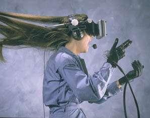 Les technologies se sont améliorées en ce qui concerne le casque de réalité virtuelle. © DR