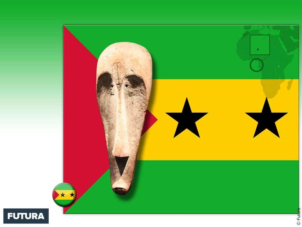 Drapeau : Sao Tomé-et-Principe