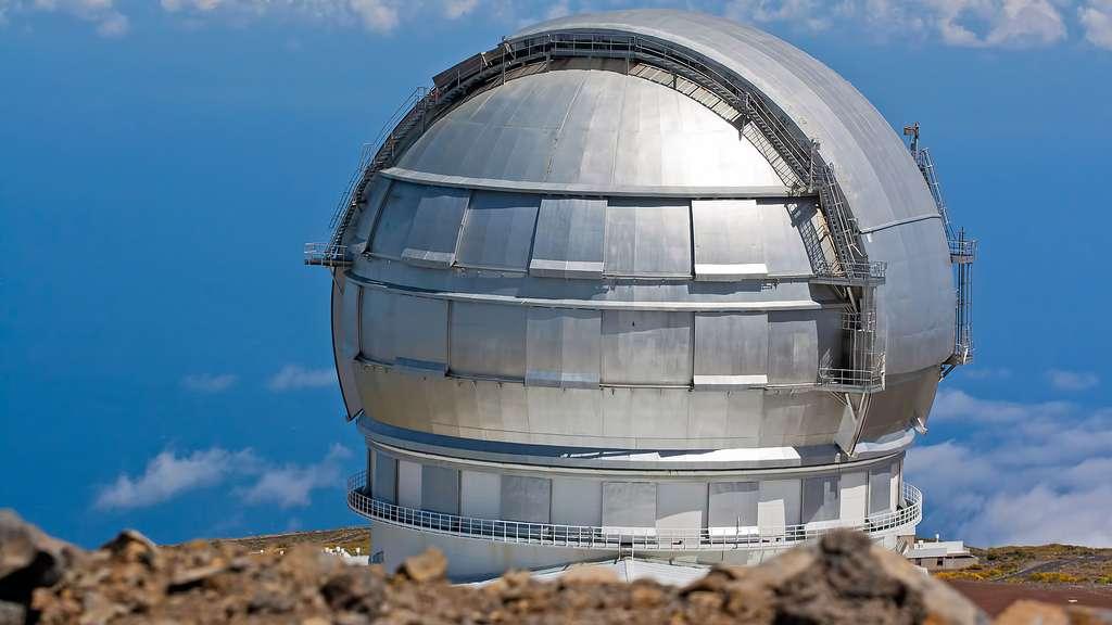 Le grand télescope des îles Canaries