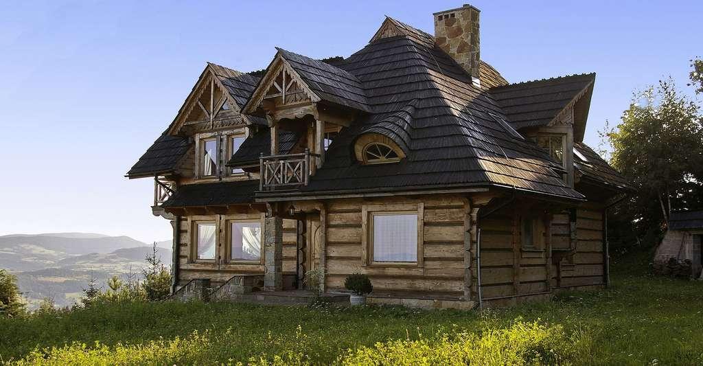 Maison en bois. © Cortez13, Pixabay, DP