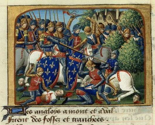 La bataille de Formigny (1450) est une bataille décisive de la guerre de Cent Ans. © DR