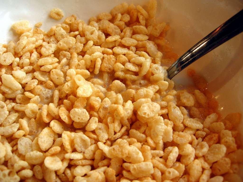 Le blé soufflé est poreux à l'instar de la glace ou de la roche. © Amy, Flickr