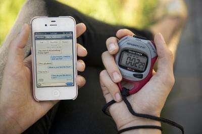 Faudra-t-il désormais chronométrer le délai de réponse des SMS qu'on reçoit pour vérifier s'ils contiennent des mensonges ou pas ? © Jaren S. Wilkey, BYU Photos