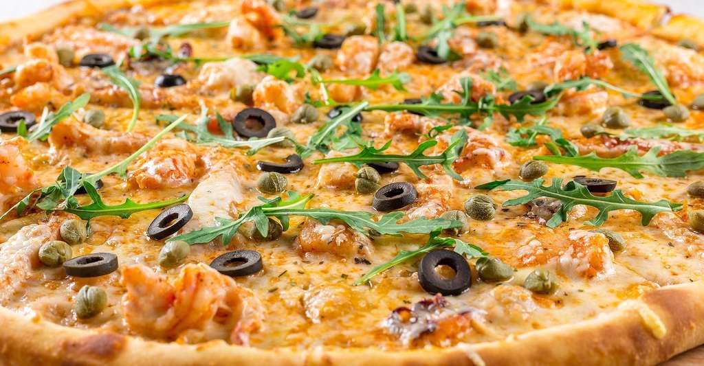 Pizza végétarienne. © Daria-Yakovleva, CCO