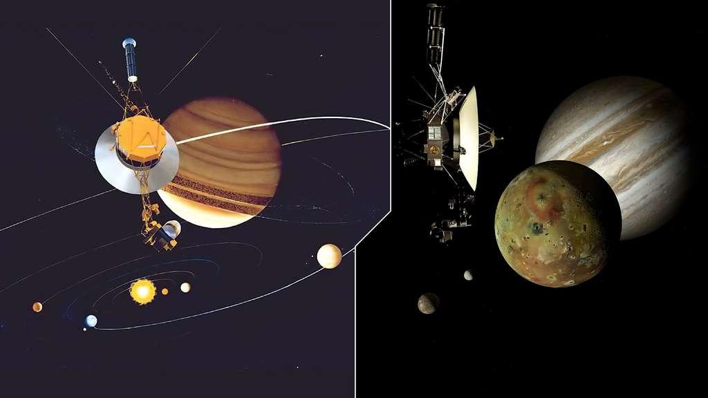 L'exploration des sondes Voyager 1 et 2