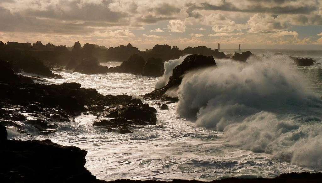 Le parc naturel marin d'Iroise, au large du Finistère. © Tom Chirossel, Wikipedia