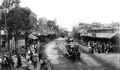 Span Road Kimberley en 1905. © DR