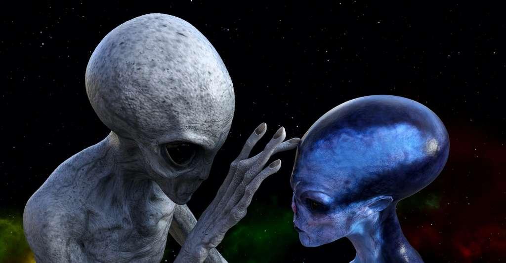 Dans sa version initiale ou plus moderne, l'équation de Drake cherche à répondre à la question du nombre de civilisations extraterrestres qui peuplent la Voie lactée. © Bert Folsom, Adobe Stock