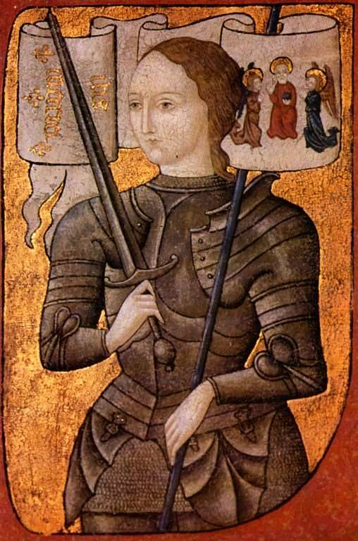 Jeanne d'Arc fut principalement un bonus au moral des troupes françaises, mais il faut croire que c'est tout ce qui leur manquait : après son apparition, la France ira de victoires en victoires. © DR