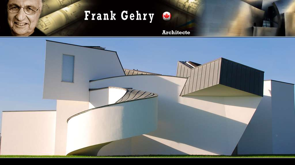 Le Vitra Design Museum en Allemagne, par Frank Gehry