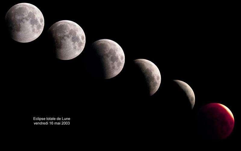 Eclipse Totale de Lune - 16 Mai 2003