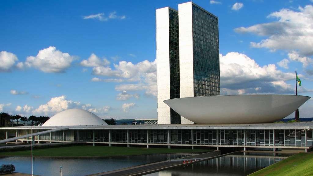 Le Congrès national du Brésil, symbole de Brasilia