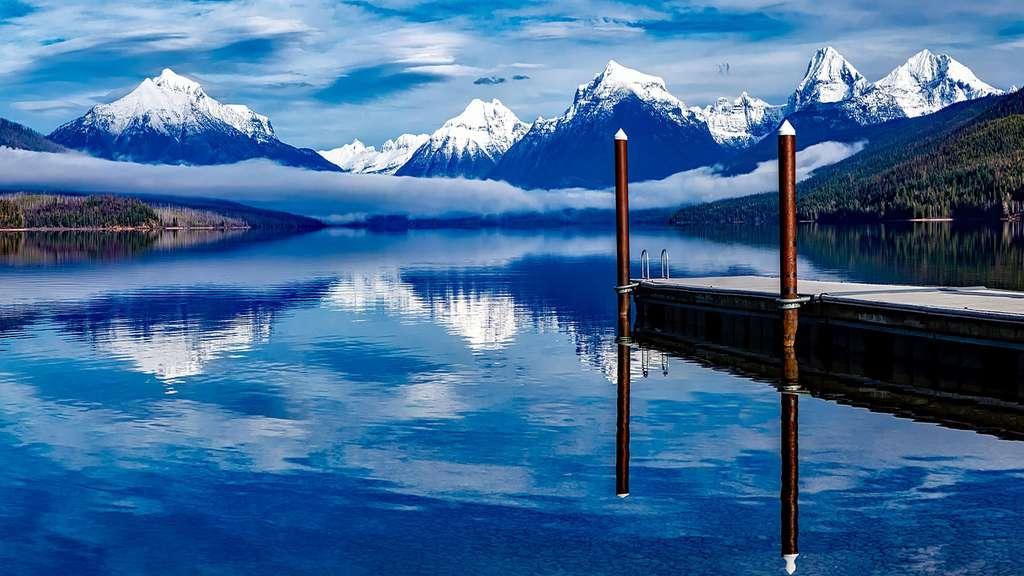 Glacier McDonald Montana
