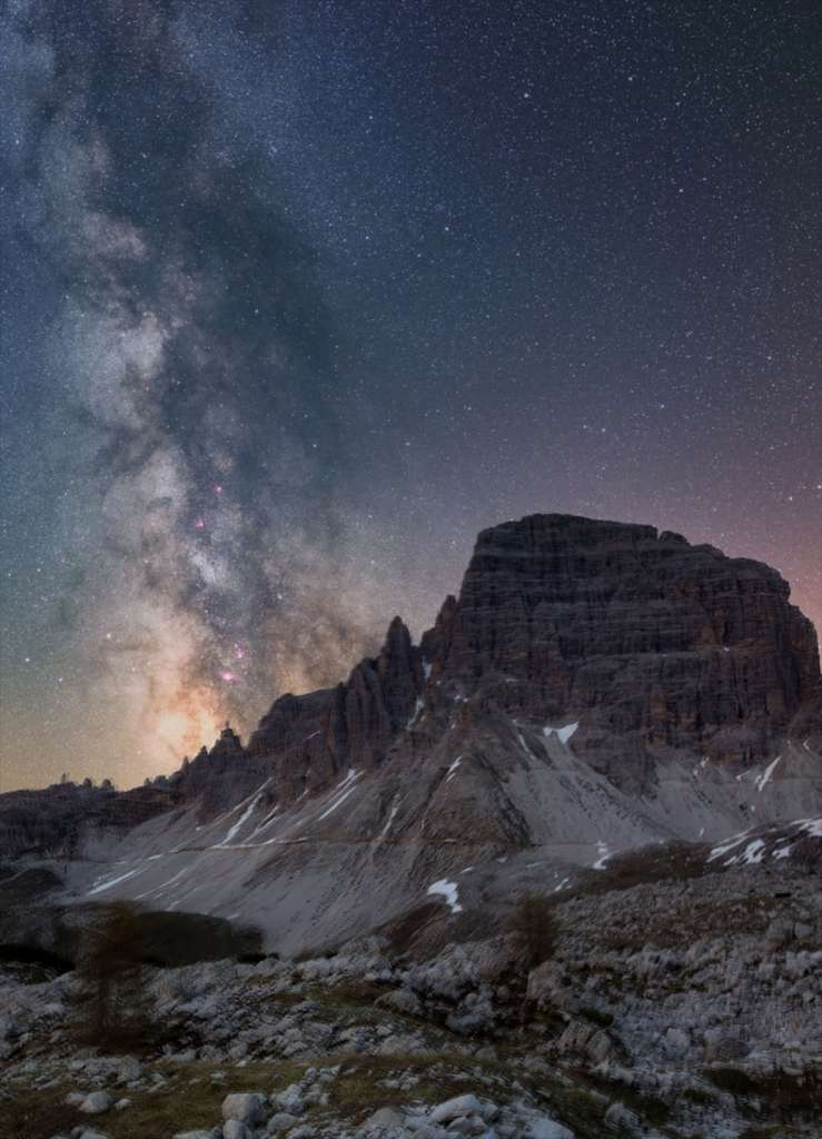 Vue sur les Dolomites. © Delil Geylik, tous droits réservés
