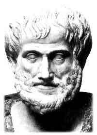 Quelques décennies après Platon, Aristote (photo) évoque une trentaine de fois dans son œuvre « l'incommensurabilité de la diagonale au côté », que nous pouvons traduire en langage moderne par l'affirmation selon laquelle √2 est irrationnelle.