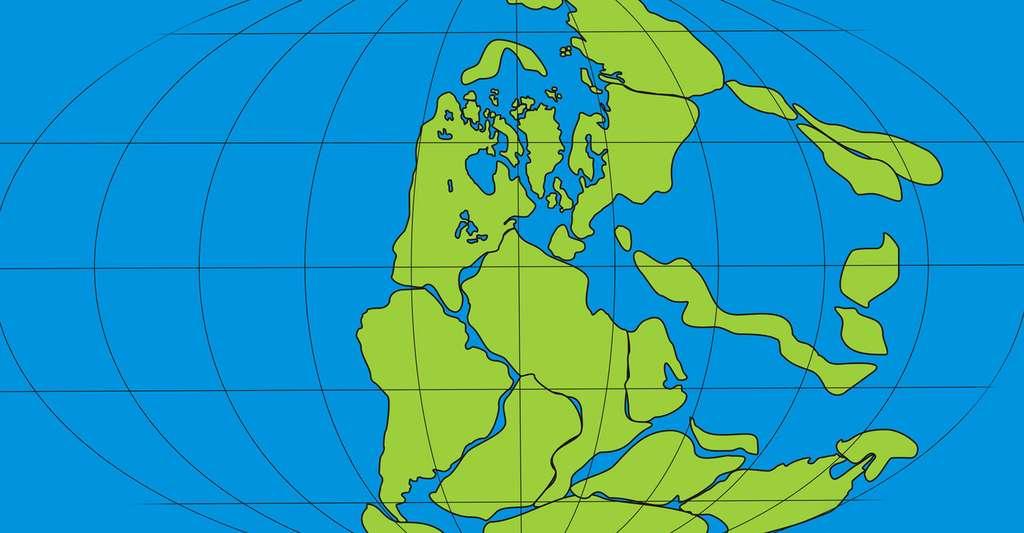 La Pangée et la dérive des continents. © Evskaya Daria Igorevna, Shutterstock