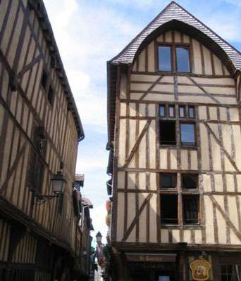 Troyes, centre ville © Wikipedia