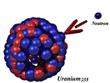 L'uranium 235, combustible nucléaire. © DR