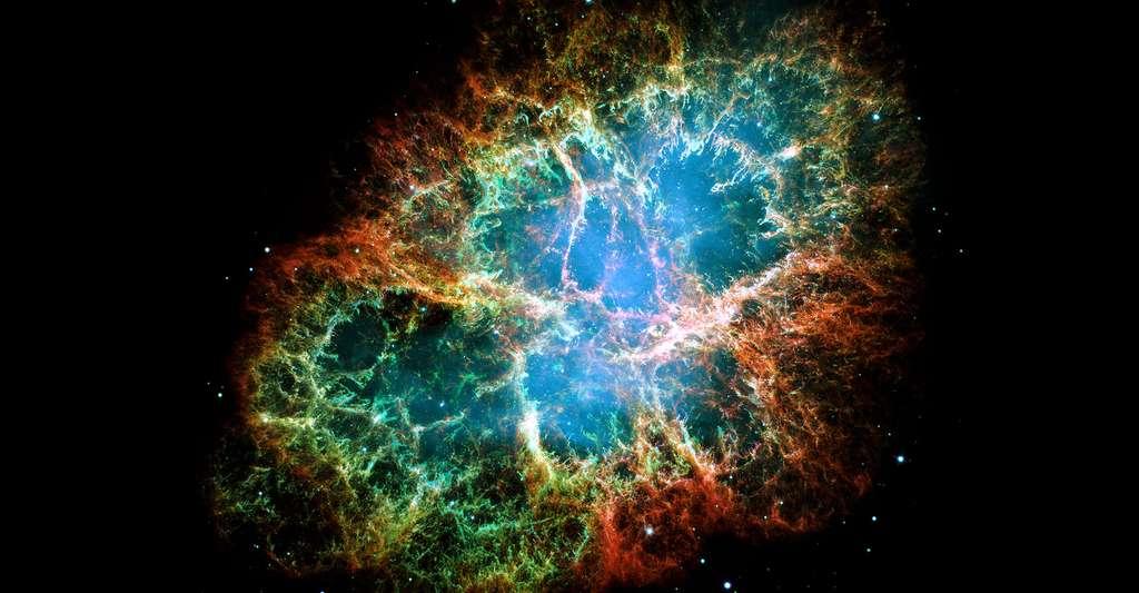 Nébuleuse du Crabe. © NASA, ESA, J. Hester and A. Loll (Arizona State University) Domaine public