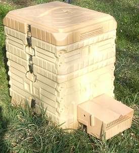 Plus de 30.000 ruches de ce type pourraient bientôt être installées partout en Europe. © CEA-Leti, Forum 4i