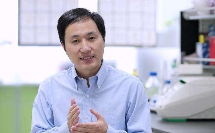 Dans une vidéo diffusée en novembre 2018, Jiankui He a expliqué qu'il avait modifié l'ADN des embryons in vitro en utilisant la technique d'édition génomique CRISPR. © Jiankui He, Youtube