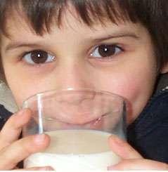 Le lait représente une source de calcium, mais ce n'est pas la seule. Source : photo personnelle, MC Jacquier