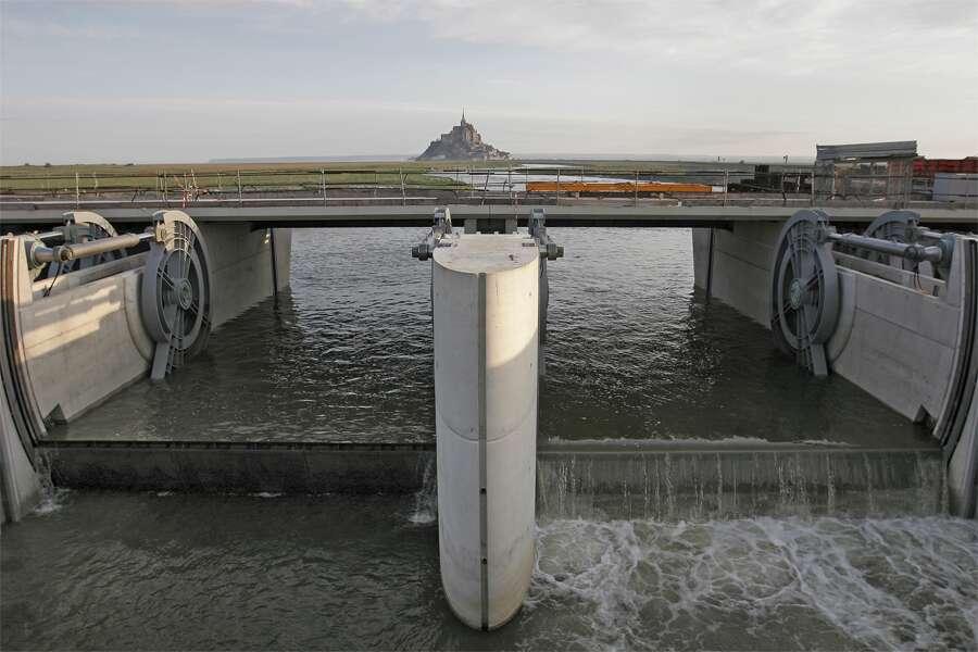 Test des moteurs de vannes du barrage du Couesnon