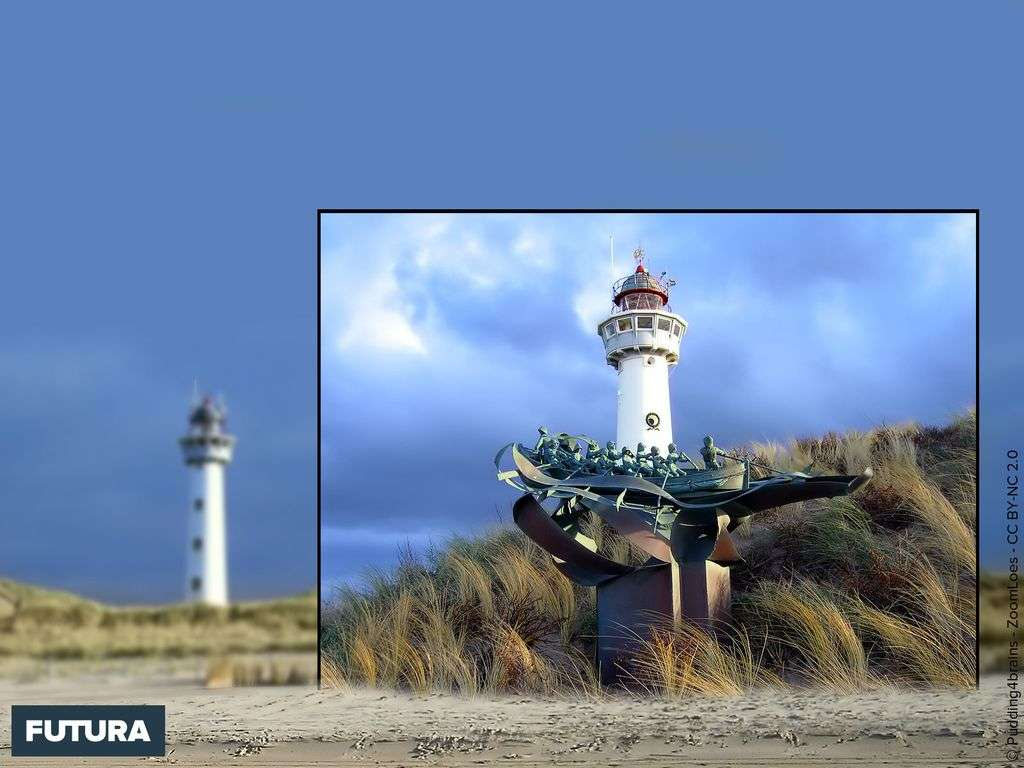 Phare Egmond aan Zee Hollande