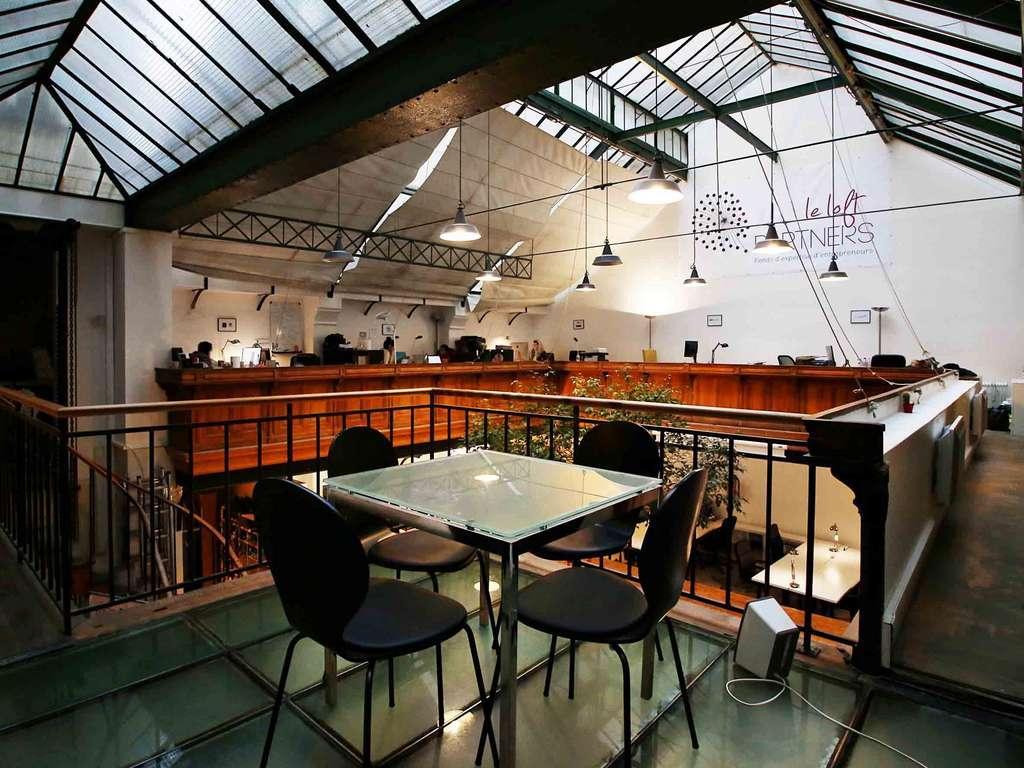 L'espace de coworking dédié aux entrepreneurs et start-ups de 50 Partners. © 50 Partners Impact