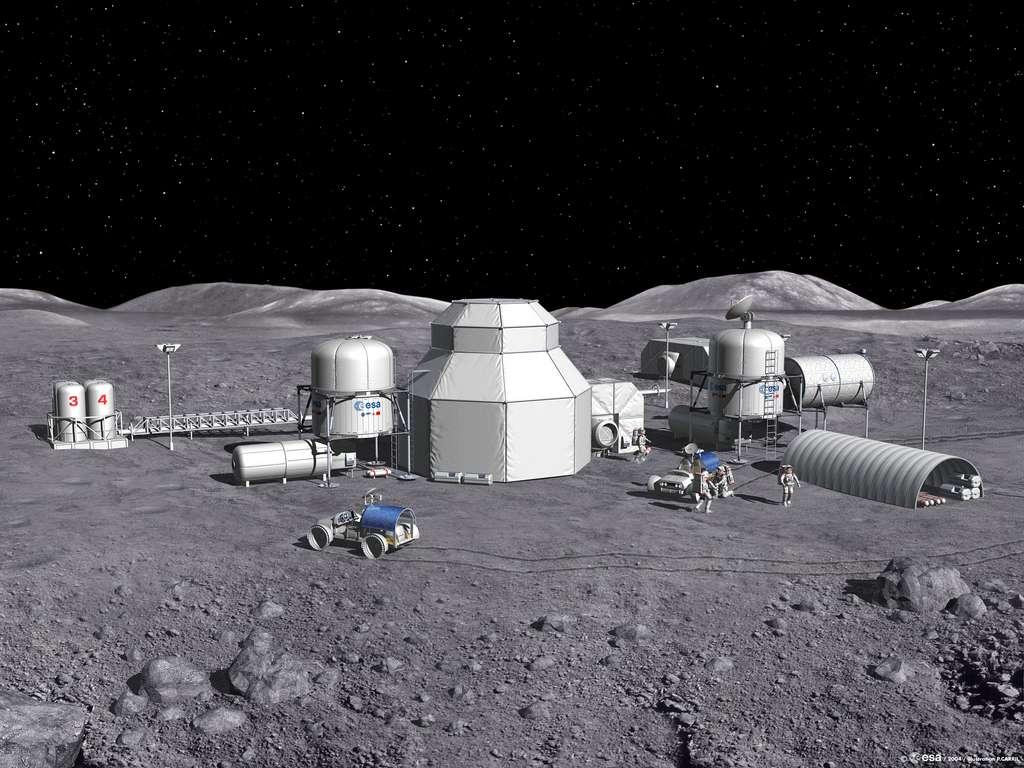 « Développer la durabilité sur la lune nous donne un modèle pour développer la durabilité sur Mars », a déclaré Clive Neal, professeur à l'université de Notre-Dame (South Bend en Indiana, États-Unis) et spécialiste de l'exploration humaine. Selon le scientifique, cette stratégie devrait permettre d'éviter « un autre intervalle de 50 ans avant d'envoyer des humains au-delà de l'orbite terrestre ». © Esa, Medialab