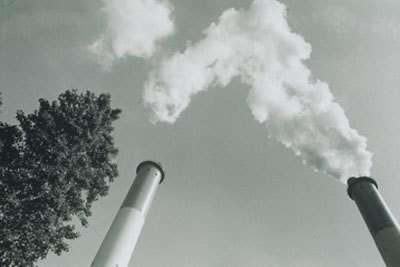 Pollution atmosphérique. Crédits : CNRS Photothèque / RENNES, Jean-Marc, 1996